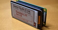 The Seeed Studio E-Ink 2.13 inch Triple colour Display